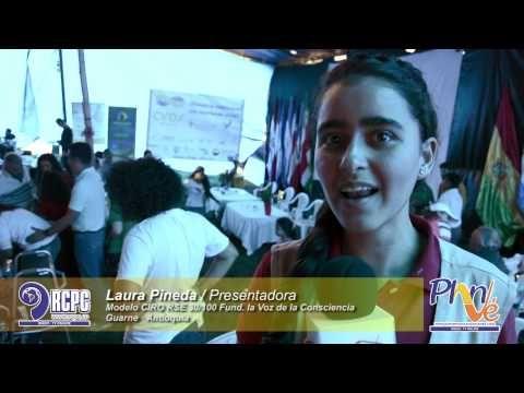 Laura Pineda · Introducción al evento Ciros RSE 30·100