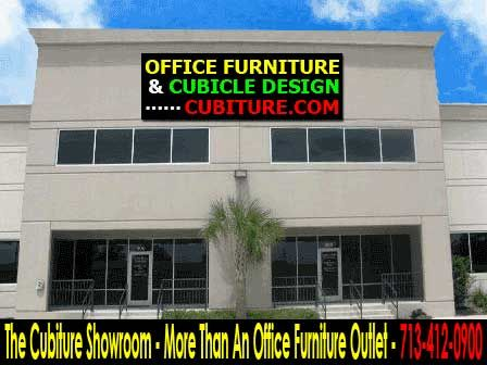 The Cubiture showroom is more than an office furniture outlet. In addition to buying furniture, you can get help creating entire office designs.