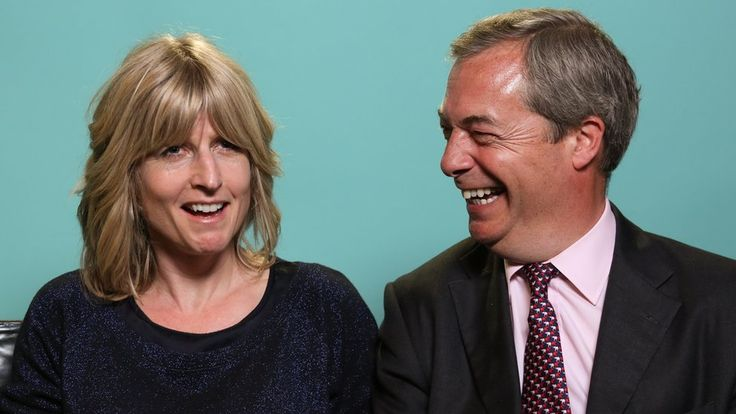 Ex-UKIP leader Nigel Farage and Boris Johnson's sister Rachel were sent on a political blind date.