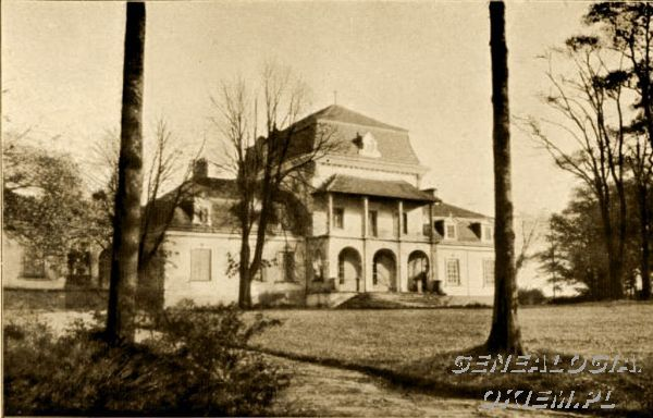 "Plaza Nasze dwory - album ""Wsi Iluustrowanej"" 1911"