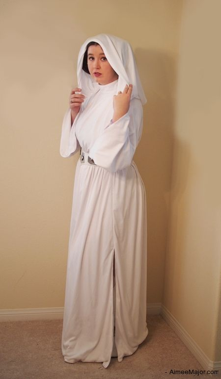 Hen Party Fancy Dress Idea - Princess Leia (Updated) tutorial by Aimee Major