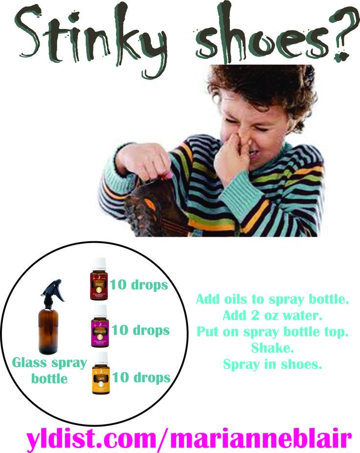 Stinky shoe spray yldist.com/marianneblair