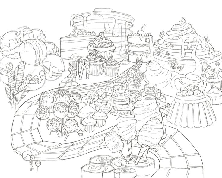 1000 Images About Candy On Pinterest Coloring Pages For