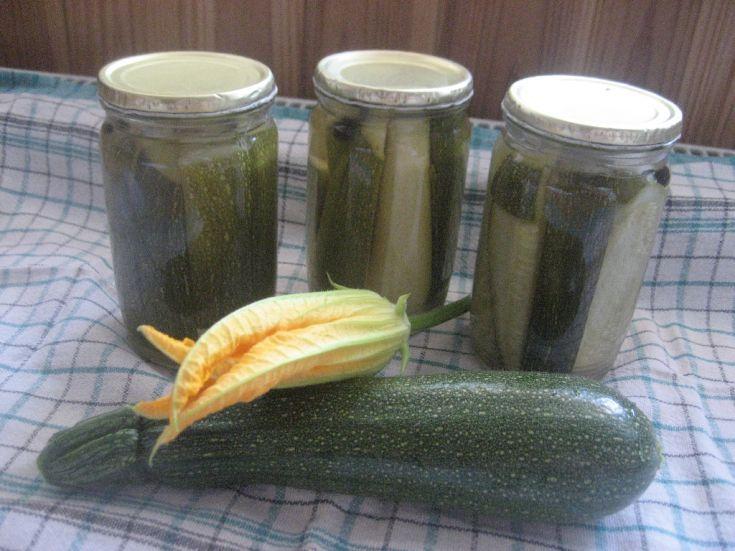 Fotorecept: Cuketa zaváraná ako uhorky
