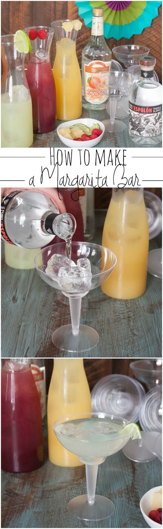 How to make a margarita bar