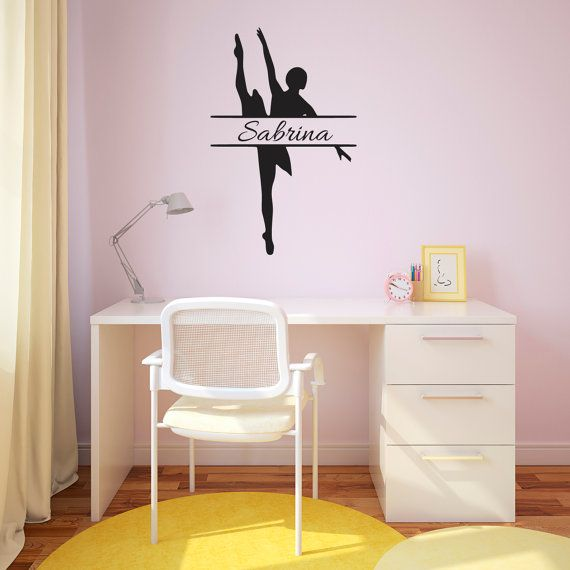 Best Personalized Wall Decals Ideas On Pinterest Monogram - Custom vinyl wall decals dance