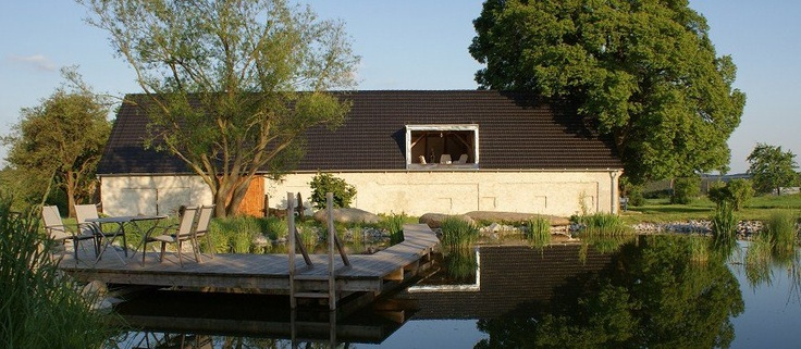 Faktkul Design,natural swimming pool, timber deck, country house, french door