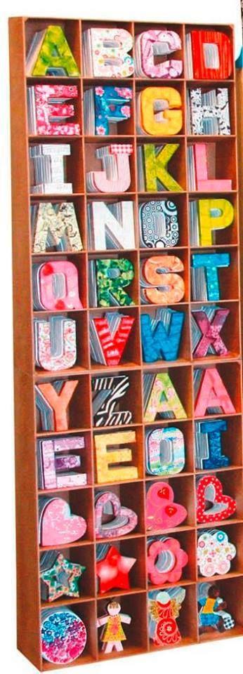 lettres Decopatch