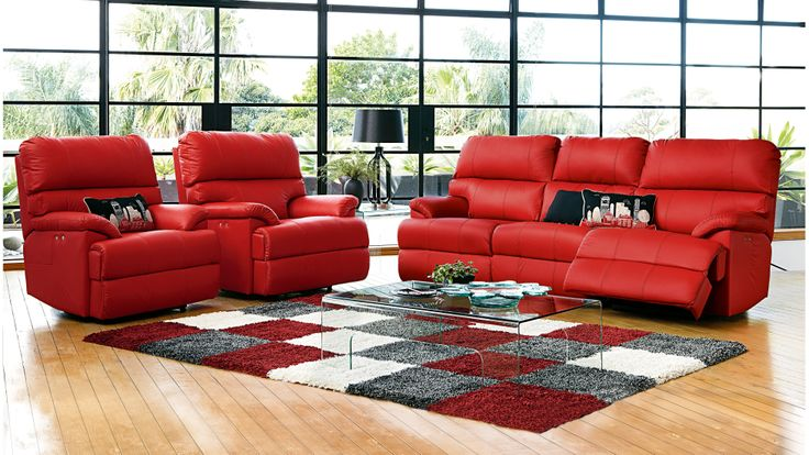 Preston 5 Seater Powered Recliner Lounge Suite