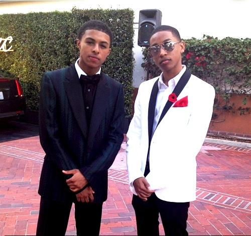 Diggy and Jacob Latimore