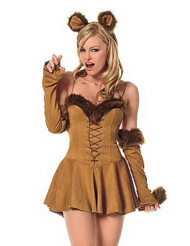 Cuddly lion adult costume