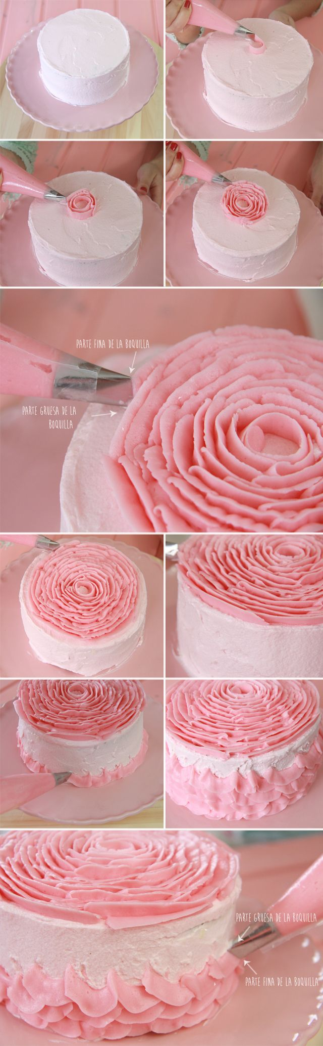 Pin cara menghias kue cake decorating cake on pinterest - Find This Pin And More On Cake And Cookie Decorating Tips More By Sactownsue