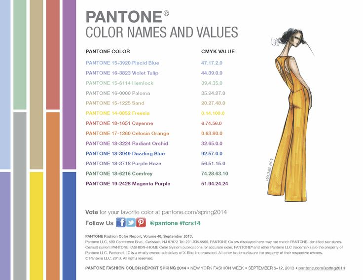 Pantone  Color Trends