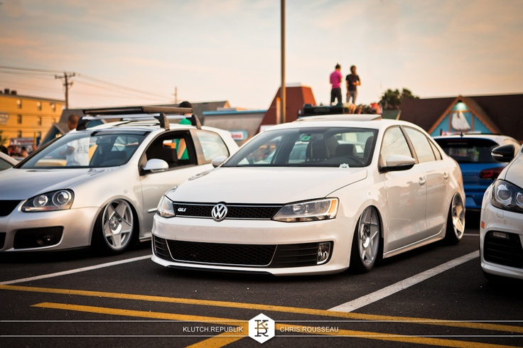 Volkswagen, GLI, klutch republik, stanced, slammed