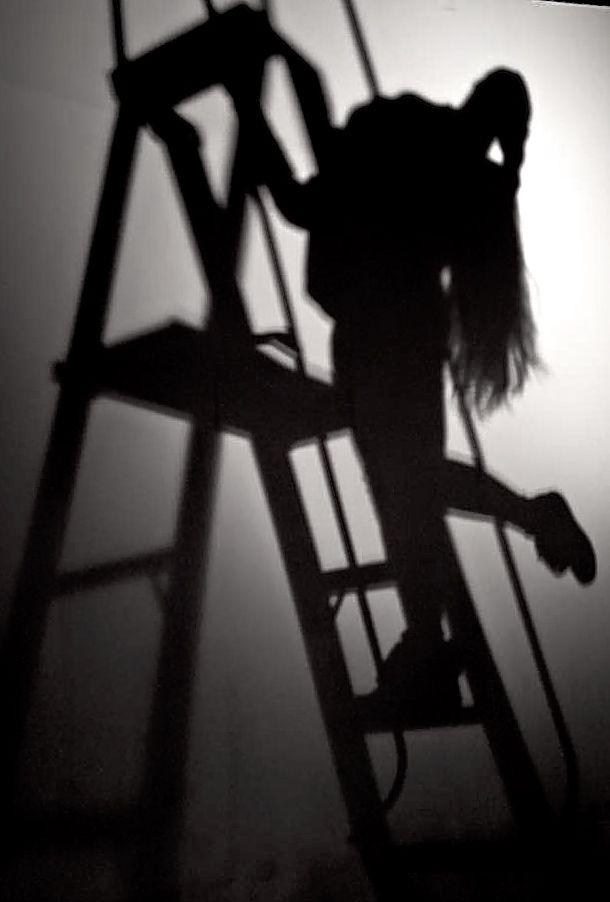 Sombra escaleras.