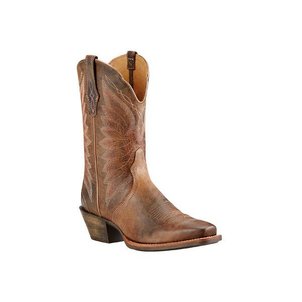 Vintage Black Leather & Fur NEXT Pull On Mid Calf Mid Heel Cowgirl Boots 4 / 37