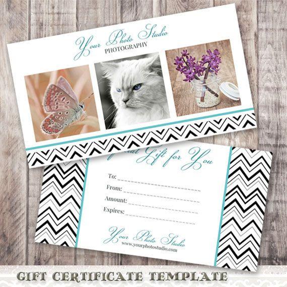 Photography Gift Certificate TemplateGift CertificateGift