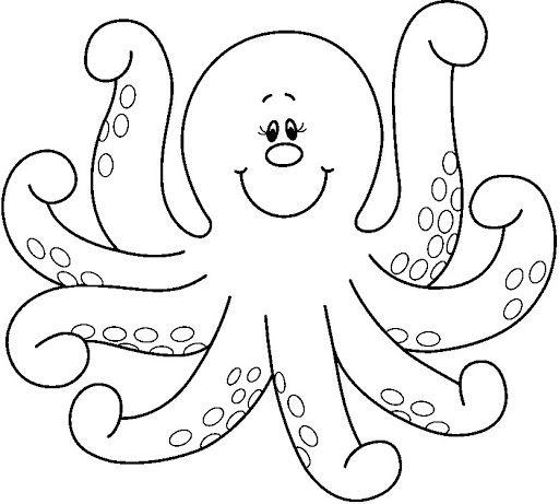 Figuras del océano - Sonia.3 U. - Picasa Webalbumok - octopus - COLORING PAGE, UNDER THE SEA, OCEAN