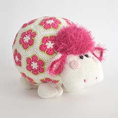 Miss Wooly amigurumi crochet pattern by Woolytoons $6.50