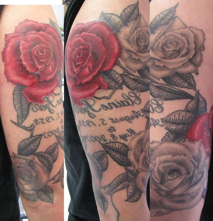 Rose Sleeve Tattoo Designs For Men Mens Half Sleeve Tattoos Roses Cool ...