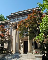 Scott House at VCU, modeled on the Marble House in Newport, Rhode Island