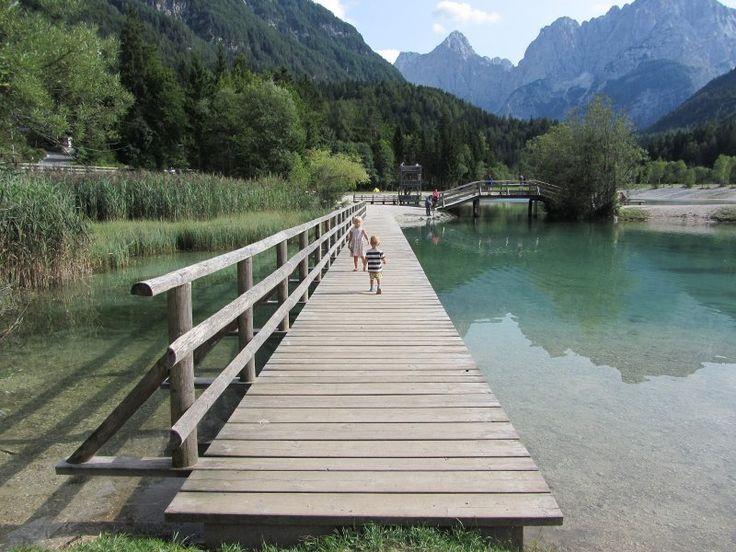Triglav procházka kolem jezera Jasna