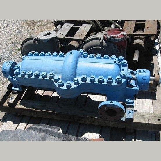 Ingersoll Rand Split Case Pump Model 3cnta8 Multi Stage Reconditioned