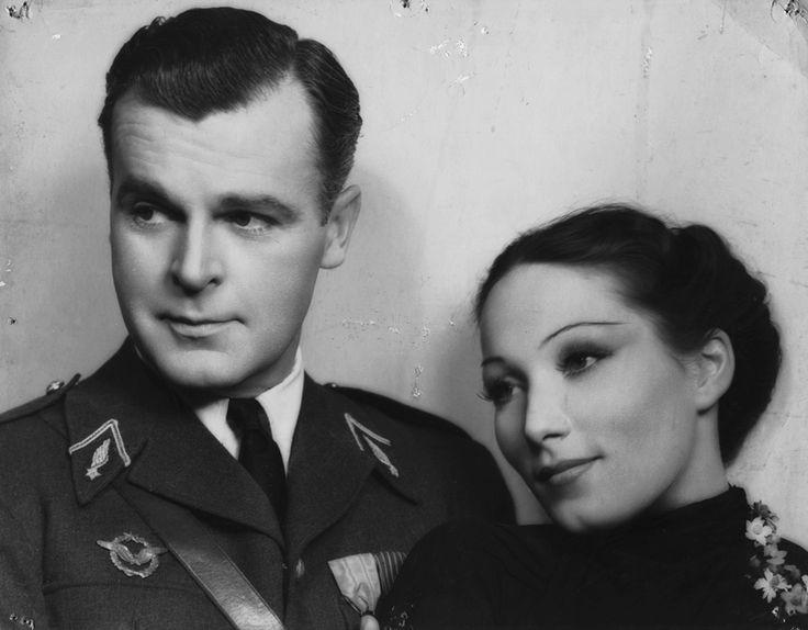 Neil Hamilton and Brigitte Horney in Secret Lives (1937)