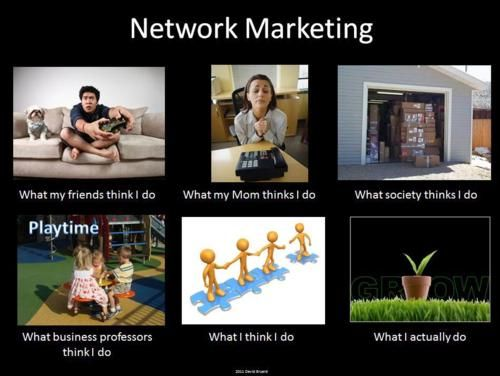 What I really do... Network Marketing Version.