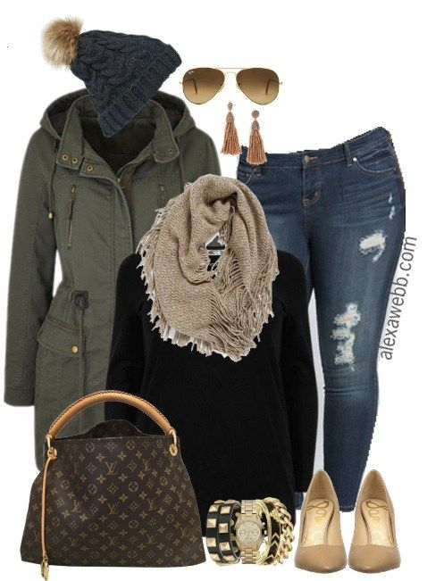 Plus Size Casual Mix Outfit - Plus Size Fashion for Women - Plus Size Outfit Ideas - alexawebb.com #alexawebb