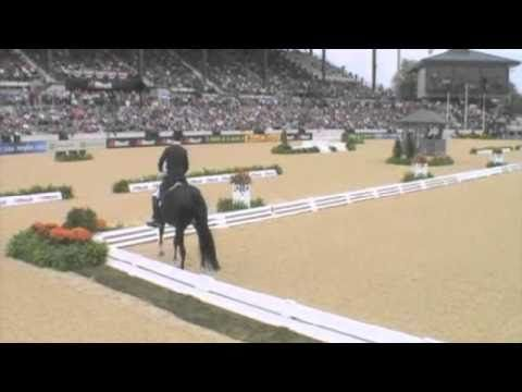 Totilas and Edward Gal The $10 million dressage phenom horse at the 2010 World Equestrian Games. Good commentary on Totilas'  strengths and weaknesses.