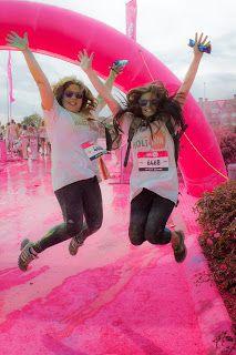 La carrera del color: Holi Run Madrid | Armario y Etc...