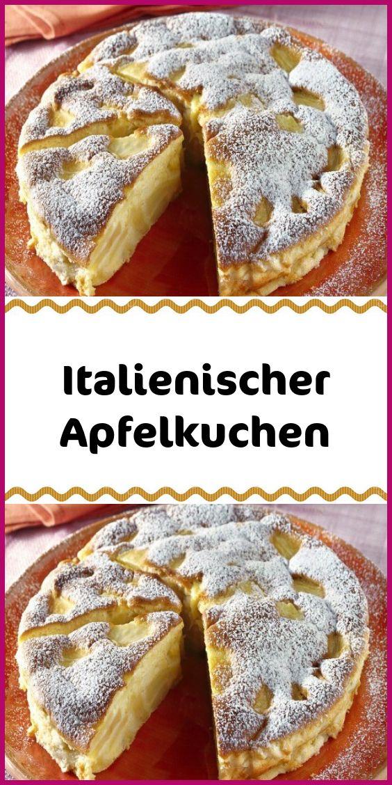 Italienischer Apfelkuchen – Kuchen & Torten Rezepte