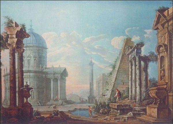 Послепотопная Европа в картинах художников 18 века потоп, 18 век, история, сокрытие, заговор, гравюра, картина, длиннопост