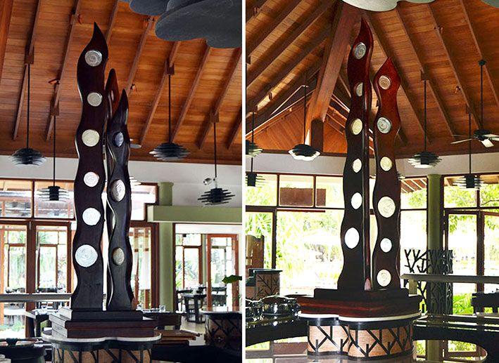 Wood Sculpture by Nedo Delport