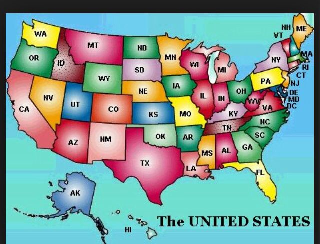 Travel to all 50 states
