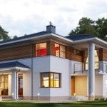 Incredible Luxury Two Storey House  + Plan