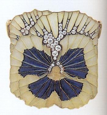 Renée Lalique, Brooch, c. 1900