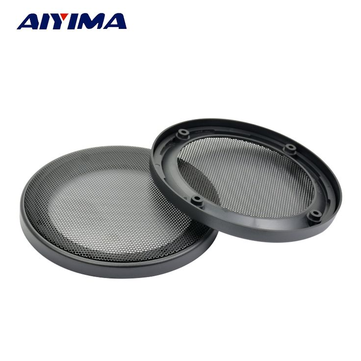 Aiyima 2pcs 5inch car stereo speaker protective grille #Affiliate