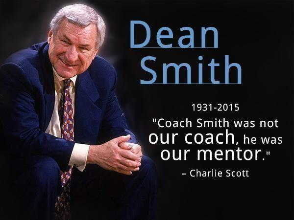 Via @WRALSportsFan: Dean Smith, 1931-2015