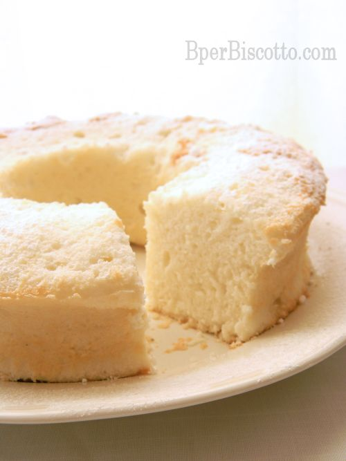 BperBiscotto: *Angel Food Cake di Luca Montersino*