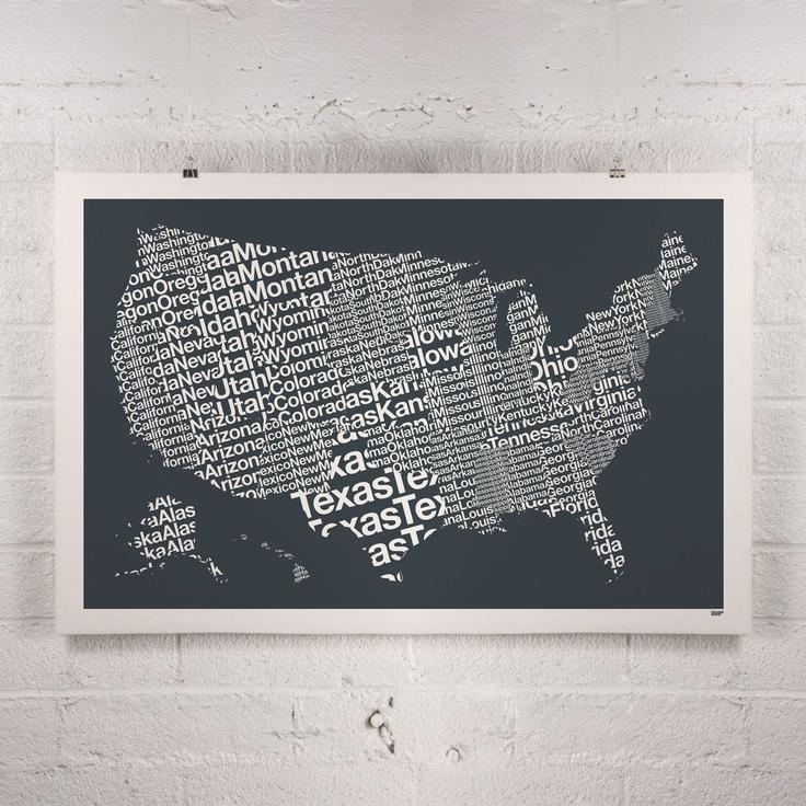 ORANGE u0026 PARK United States print