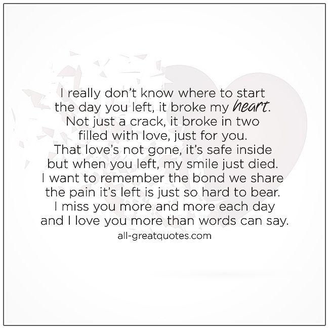Is quotes breaking heart my 45 Broken