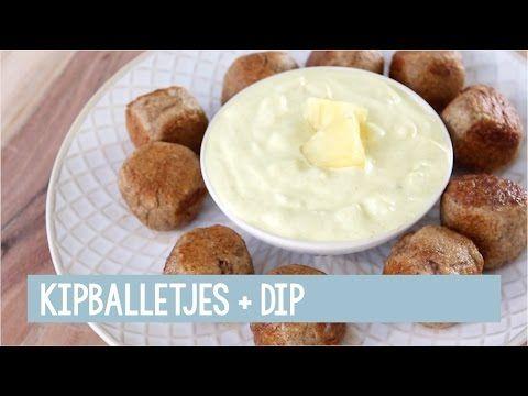 Kipballetjes + kerrie/ananas dip - Foodgloss   FOODGLOSS - YouTube   Bloglovin'