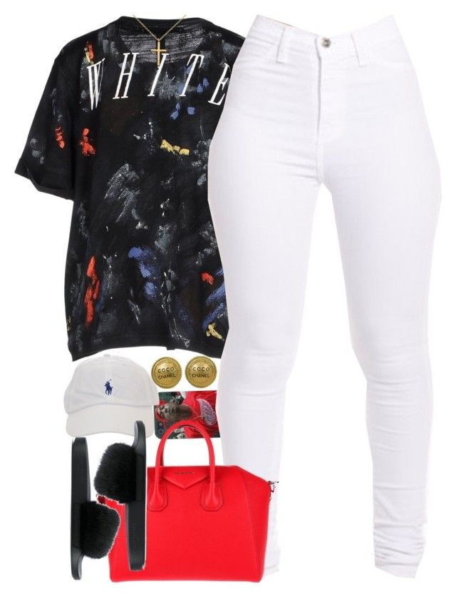 """Untitled #1605"" by power-beauty ❤ liked on Polyvore featuring Off-White, Chanel, Givenchy and Blue Nile"