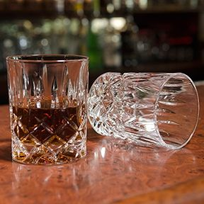 "Waldorf ""Men's Bar"" Crystal Whiskey Glass (Set of 2)"