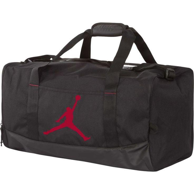Jordan Gym Rat Duffle Bag, Black