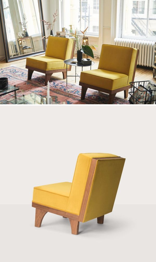 Line Lounge Chairs By Luteca Furniture At The Apartment