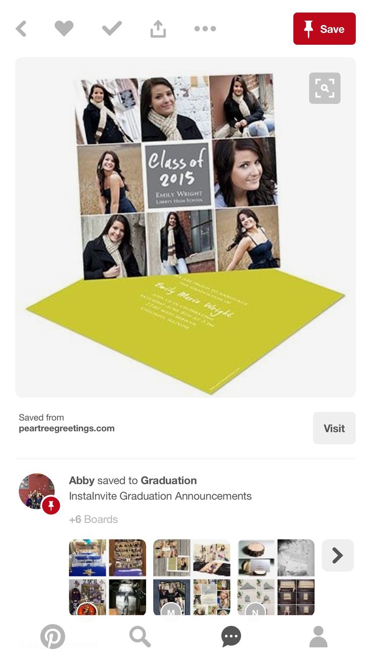 63 best senior announcement ideas images on pinterest graduation new college graduation announcements from share this exciting accomplishment with loved ones m4hsunfo