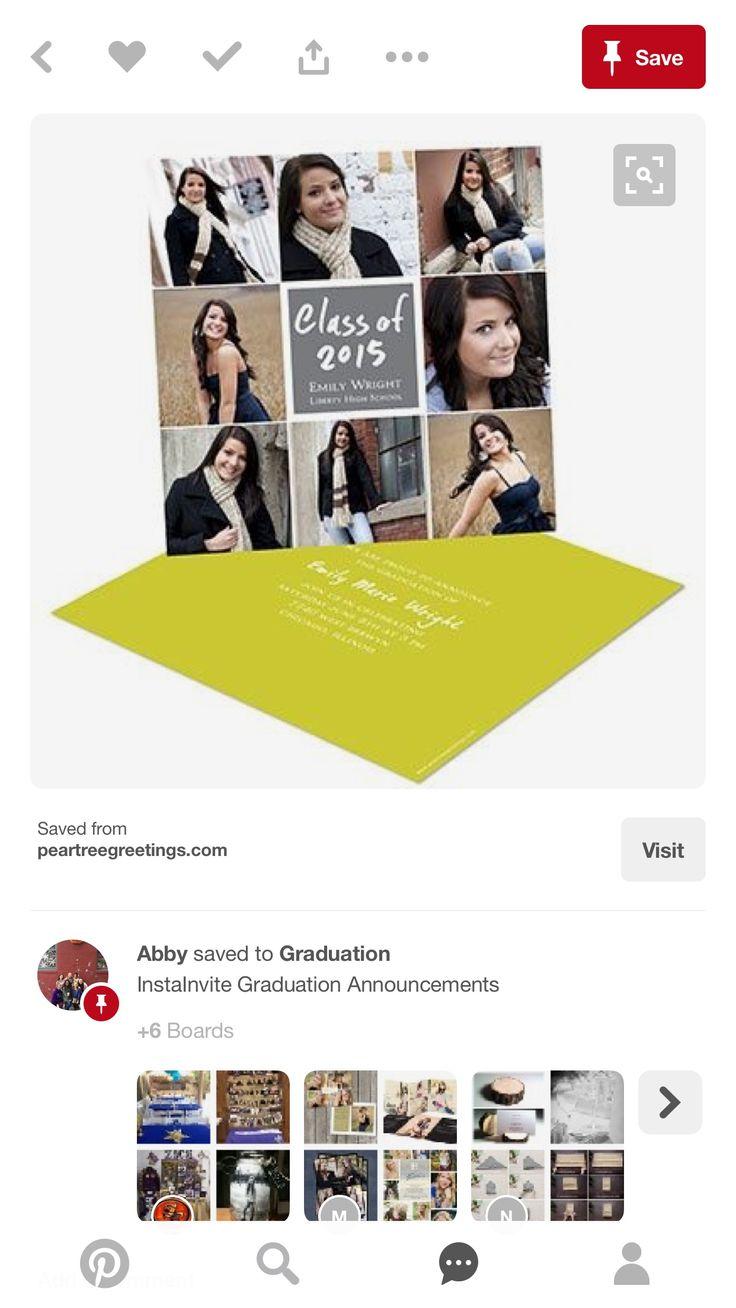 63 Best Senior Announcement Ideas Images On Pinterest Graduation